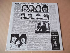 Beatles - Solo Beatles 70's recordings rare live LP Melvin records SEALED