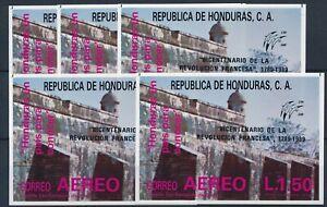 [P5742] Honduras 1989 good sheets (5) very fine MNH