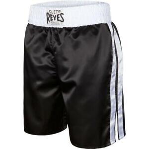 Cleto Reyes Pro Boxing Shorts Black White