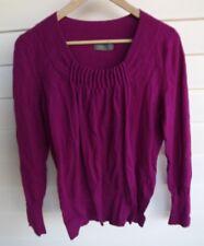 Jacqui E Women's Pink-Purple Knit Top - Size S