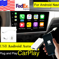 12V USB Dongle Cable For Apple iPhone Carplay Android Car Navigation Player US