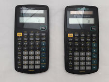 Texas Calculator Lot of 2 TI-30 ECO RS Calculator Taschenrechner Schulrechner