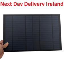 Solar Panel 18V 10W 0.55A Mini PET Monocrystalline Polycrystalline module cells