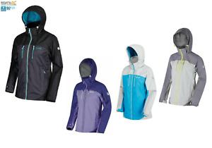 Regatta Womens Calderdale ll Waterproof Windproof Shell Rain Coat Walking Jacket