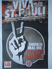Programm 2014/15 FC St. Pauli - Greuther Fürth