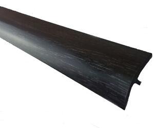 B&Q GoodHome Oppland Black Oak Threshold 38mm x 900mm Transition Multi Purpose