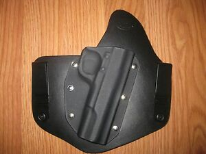 IWB Kydex/Leather Hybrid Holster for Browning
