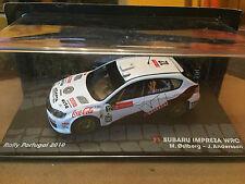 "DIE CAST ""SUBARU IMPRESA WRC RALLY PORTUGAL 2010 M.OSTBERG/J.ANDERSON"" 1/43"