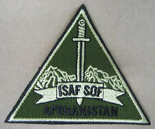 Toppa/Patch Verde dotazione S.O.F. TASK FORCE 45 - ISAF-AFGHANISTAN (Originale)