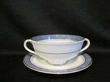 Royal Doulton - SHERBROOKE - Cream Soup and Bowl