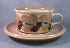 ARABIA OF FINLAND Ulla Procopé Vintage Koralli Tea Cup & Saucer Excellent