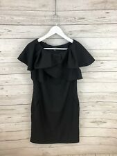 TED BAKER Dress - Size 3 UK12 - Black - Great Condition - Women's