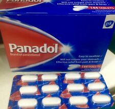 Panadol 500mg Paracetamol Tablets Effective Relief From Pain & Fever-144 Tablets