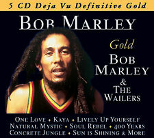 BOB MARLEY New Sealed BEST OF & MORE 5 CD BOXSET