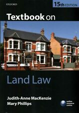 Textbook on Land Law by Mary Phillips, Judith-Anne MacKenzie (Paperback, 2014)