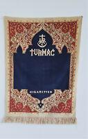 Turmac Cigaretten Wandbehang Wandteppich um 1930 SELTEN!!