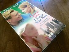 I Love You, I Love You Not (VHS) Jeanne Moreau Claire Danes Jude Law