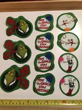 The Grinch Who Stole Christmas Fabric Iron On Appliques Style#12 Christmas