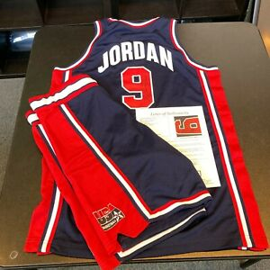 Michael Jordan Signed Game Used 1992 Team USA Dream Team Uniform Jersey JSA COA