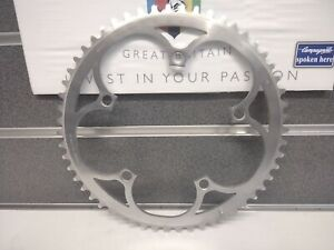 NOS Vintage 1980s Genuine Campagnolo Chainring 55T AS 5 Bolt x 135 BCD