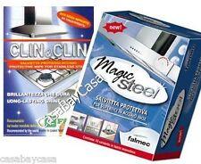 CLIN CLIN FABER+ MAGIC STEEL FALMEC SALVIETTE PULIZIA acciaio inox Offerta  ì