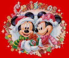 "Disney's ""Mickey and Minnie's Christmas"" Cross Stitch Pattern CD"
