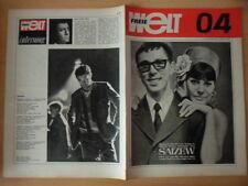 FREIE WELT 4 1967 Jean Claude Pascal Modetipps Schätze Sibiriens Höhlenforscher