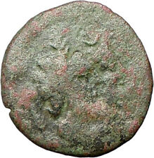 Katane in Sicily Ancient Greek Coin Jugate busts of Zeus and Isis Cult  i28154