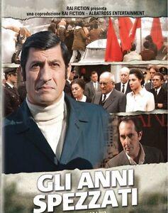 DVD Gli anni spezzati Il Commissario,Il Giudice,L'Ingegnere 3 cofanetti (6 DVD)