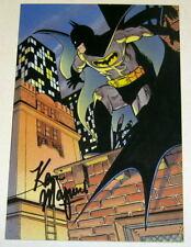 1988 Kevin Maguire SIGNED JLA Justice League Art Post Card ~ Batman