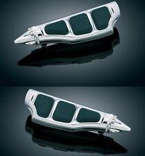 HONDA F6C VALKYRIE Passenger Footpegs / Footrests / Pegs (Kuryakyn 4476 & 8802)