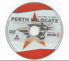 Perth Wildcats NBL Team -  Behind the Ball DVD - History of