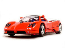 PAGANI ZONDA C12 RED 1:18 DIECAST MODEL CAR BY MOTORMAX 73147
