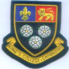 UK Kings College School Class Reunion Alma Mater COA Crest Arms Seal Patch EDU