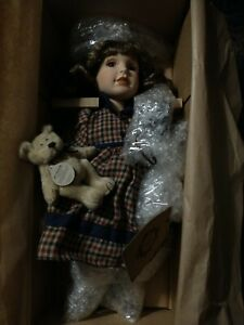 Boyds Bears Yesterdays' Child Doll Allison & Andy NIB