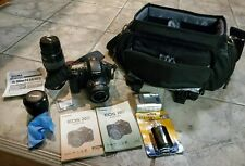 Canon EOS 20D Camera DS126061 with 3 Lens & Charger & CF Card