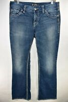 Silver Suki Surplus Jeans Womens Bootcut Tag 30x32 Flap Pocket Meas. 31x32