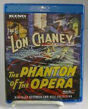 The Phantom Of The Opera Kino Classic Blu-ray Oct-2015, 1 Movie 3 Cuts New
