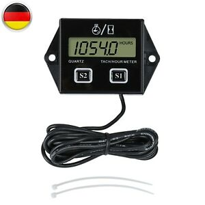 LCD Universal Digital Drehzahlmesser Induktiver Design Für Alle Zündmotoren