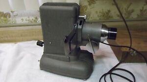 Vintage TDC model D slide projector with original box