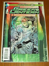 GREEN LANTERN NEW 52 FUTURES END #1 3D COVER DC COMICS NM (9.4)