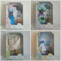 Disney Accessory Pack Outfit For Classic Doll Aurora, Ariel, Belle,Tiana,Jasmine