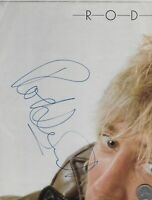 Rod Stewart Musician, Singer IN PERSON Signed Autograph on page.(#Ba24)