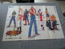 >> FATAL FURY REAL BOUT SPECIAL SNK JAPAN ARCADE B2 SIZE OFFICIAL POSTER! <<
