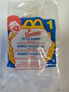 McDonald's Happy Meal Dutch Barbie Doll Figurine 1995 #1 Bagged