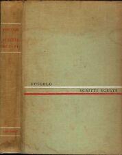 Ultime lettere di Jacopo Ortis - Viaggio sentimentale di Sterne