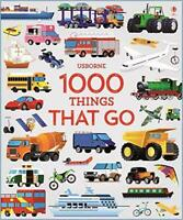 1000 Things That Go (1000 Pictures) by Sam Taplin, NEW Book, FREE & FAST Deliver