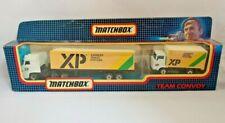 MATCHBOX TEAM CONVOY TC 4 Cargo Set 1987 1:90 BOXED Pre-owned XP Xpress Parcels