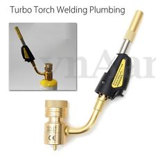 Mapp Gas Self Ignition Turbo Torch Propane Brazing Soldering Welding Plumbing