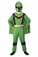 Power Rangers Mystic Force Green Costume Size 7-8 Medium New Child Standard